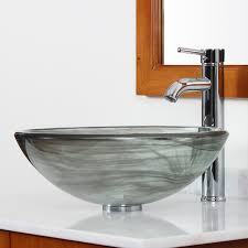 this elite vessel sink is composed from high grade tempered glass