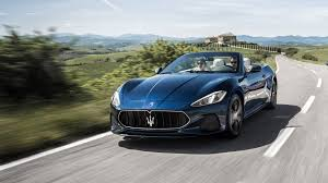 maserati chrome blue 2018 maserati granturismo luxury convertible maserati usa