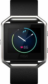 best black friday deals on fitbit fitbit blaze smart fitness watch large black fb502sbkl best buy