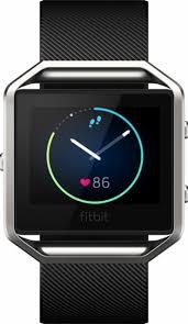 best deals on fitbits on black friday fitbit blaze smart fitness watch large black fb502sbkl best buy