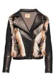 moto jacket chaser faux fur moto jacket from indiana by the bungalow lv