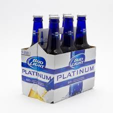 32 pack of bud light bud light platinum 12oz bottle 6 pack beer wine and liquor