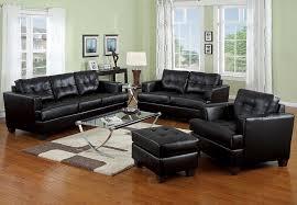 Black Leather Sofa Set Top Contemporary Black Leather Sofa Choosing Black Leather Sofas