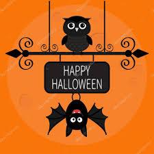 happy halloween card u2014 stock vector worldofvector 121803820