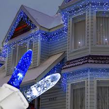 blue white christmas lights blue and white christmas lights homesfeed