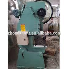 Bench Punch Press J23 Series Mechanical Power Press Punch Press Machine For Aluminum