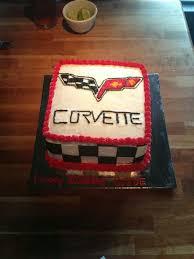 corvette birthday corvette birthday cake cakes i ve made birthday