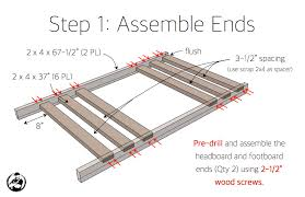 Wood For Building Bunk Beds by 2x4 Bunk Bed Rogue Engineer