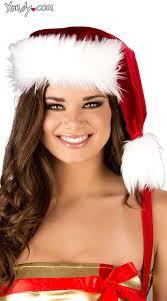 fur christmas fur trimmed santa hat santa hat woman santa hat santa