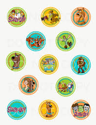 free printable halloween cupcake toppers printable diy scooby doo theme cupcake toppers