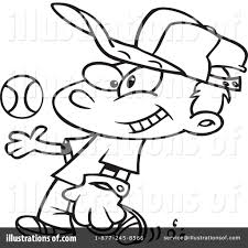 baseball clipart 440429 illustration by toonaday