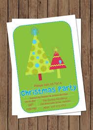 diy printable customizable christmas party invitation holiday