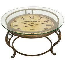 Clock Coffee Table Aspire Coffee Table With Clock 75648 Ebay