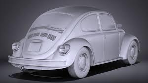 volkswagen beetle studio max 3d volkswagen beetle 1980 vray