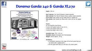 Size 13 Awning Dorema Garda Caravan Awning Youtube