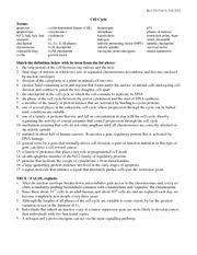 worksheet 20121201 unit 10 cytoskeleton biol 130 unit 10