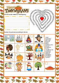thanksgiving word search thanksgiving word search worksheet free esl printable