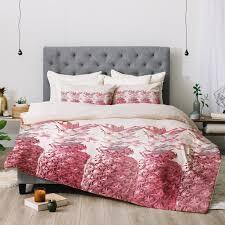 lisa argyropoulos pineapple blush jungle comforter deny designs
