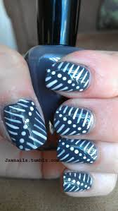 102 best manis 2 try stripes images on pinterest nail art