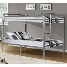 weston home full over full metal bunk bed hayneedle