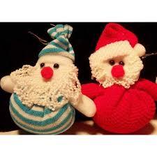 handmade santa doll home ornament evtoys
