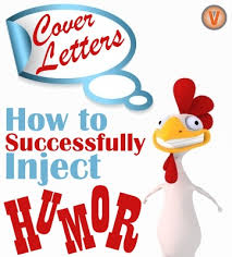how to use humor in a cover letter virtual vocations