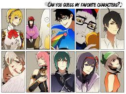 Favorite Character Meme - favorite characters meme by chewypickles on deviantart