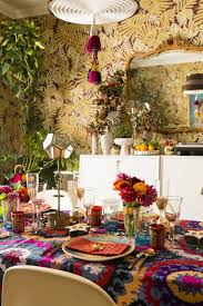 Justina Blakeney by How Justina Blakeney Sets A Festive Bohemian Holiday Table Photos