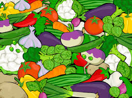 basket of vegetables clipart free images cliparting com