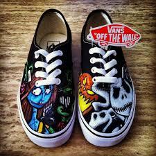 nightmare before custom vans shoes