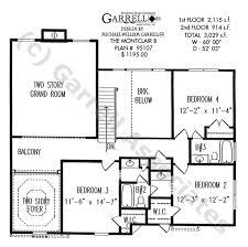 montclair b house plan house plans by garrell associates inc