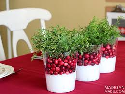 Easy Centerpieces Easy Cranberry Centerpiece Idea