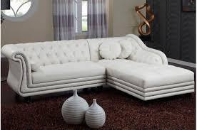 canap d angle blanc canapé d angle gauche blanc chesterfield diana kate design sur sofactory