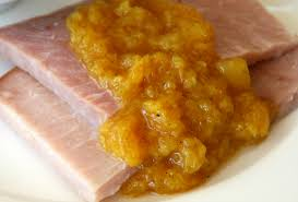 curried pineapple sauce for ham