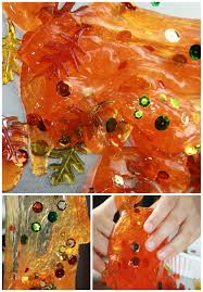 thanksgiving glitter images fall slime recipe for fall science and sensory play