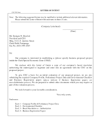 Business Proposal Letter Template Sample Business Letter With Enclosures The Letter Sample