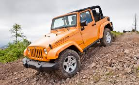 jeep wrangler orange jeep tricks wrangler gets five new colors adds special edition