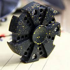 boxer dog fidget spinner nine gear linkage rotate top level fidget hand spinner torqbar