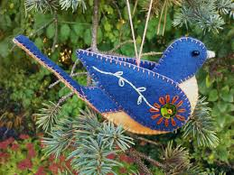 wow want to diy felt bird asap from sahnetoertchen loveitsomuch