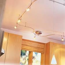 Kitchen Track Lighting by Hampton Bay 12 Ft 120 Volt Flexible Track Lighting Starter Kit In