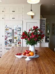 Butcher Block Countertops Houzz - White kitchen cabinets with butcher block countertops