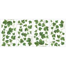 shop roommates peel u0026 stick vines wall stickers at lowes com