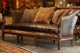 appealing rustic leather sectional sofa with sectional sofa design