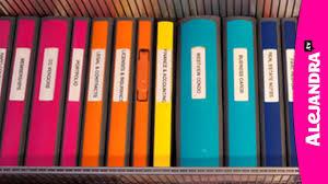 binder organization best binders u0026 dividers to use for home