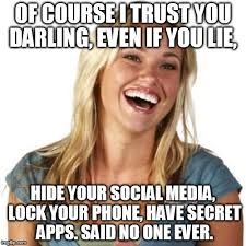 No Trust Meme - friend zone fiona meme imgflip