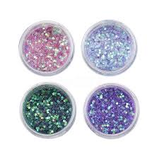 holographic glitter mermaid holographic glitter chunky powder eye shadow