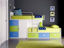 Bunk Bed Tidy Beds With Storage For A Tidy Room Extraordinary White Green