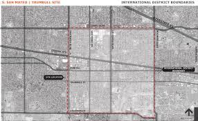 Albuquerque Map International District Boundary Map Abq Nm South San Mateo