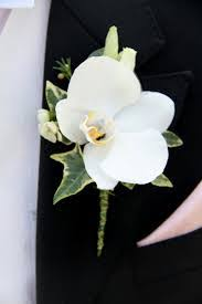 orchid boutonniere white orchid boutonniere oakland florist flowers flower
