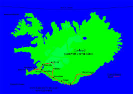 Southwest Route Map by Kaiyote Tours Iceland Birding Adventures Trips U0026 Travel Packages